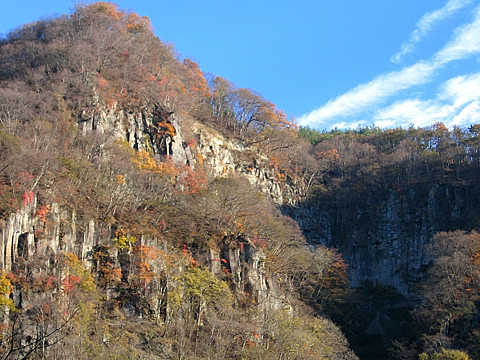 上毛からっ風紀行 第5回 渓谷と丸岩とロックハート城