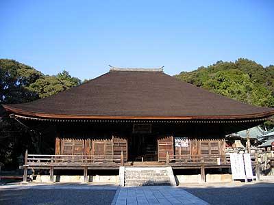 滝山寺 本堂