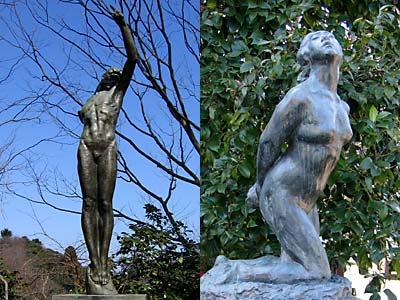 高岡古城公園の彫刻