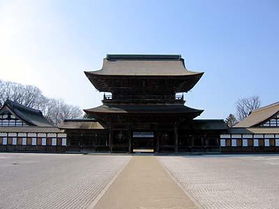 瑞龍寺 山門