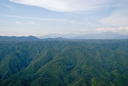 笠ヶ岳方面