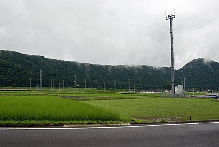 手取川の河岸段丘
