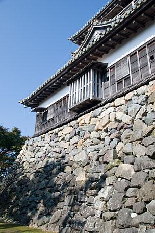 丸岡城の石垣