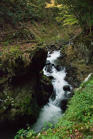 五太子の滝遊歩道