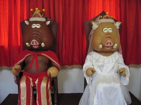 イノブータン大王とキララ王妃