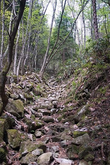 高屹山登山道
