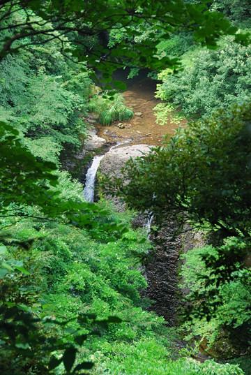 双竜の滝(鳥毛滝)