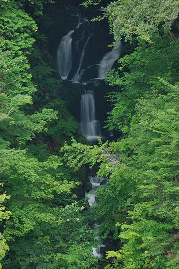 千国街道ドライブ -大水沢の滝-