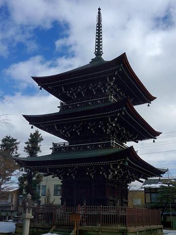 飛騨国分寺 三重塔