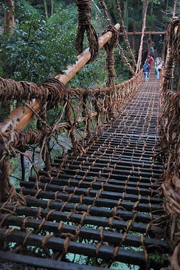 阿波・土佐紀行 第9回 祖谷のかずら橋