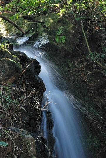 深山不動の滝