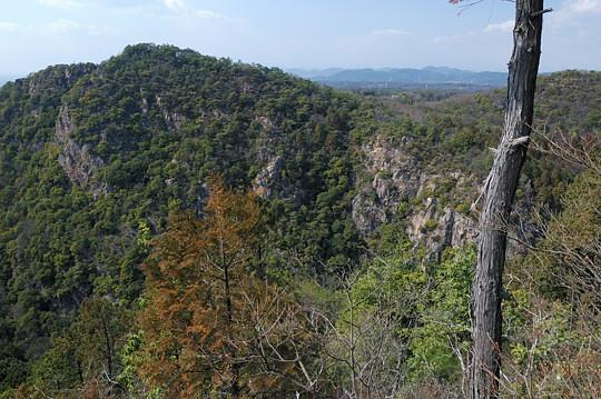 岩見山展望台から