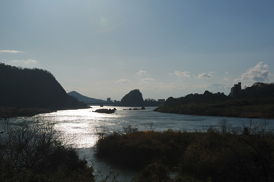 尾張の滝ドライブ 桃太郎神社と不老滝