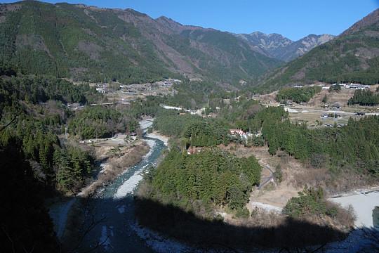 付知峡ドライブ2009 不動渓谷