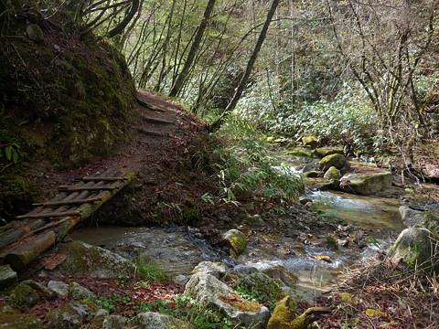 平谷の大滝遊歩道
