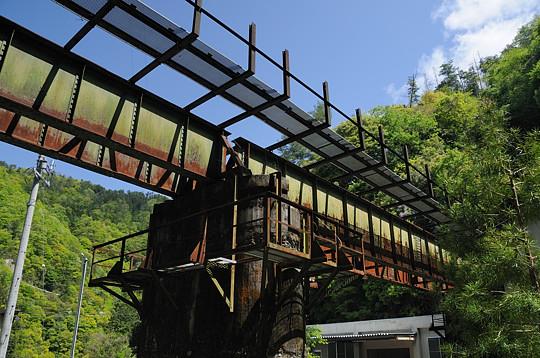 飯田線の旧鉄橋