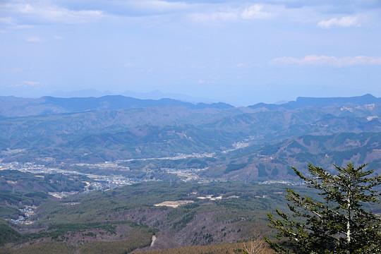 妙義山方面