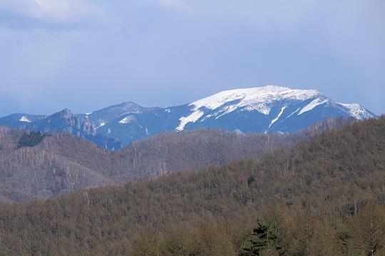 瑞牆山と金峰山