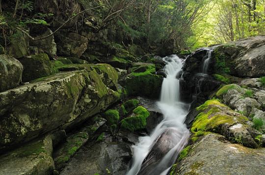 のべん滝 -飛騨の滝めぐり2009-