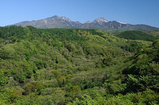 川俣川と八ヶ岳