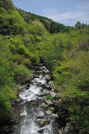 平沢橋から下流方面