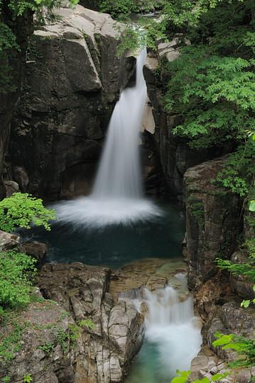 夕森渓谷の滝めぐり 竜神の滝