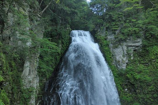 2009年夏の乗鞍高原 番所大滝