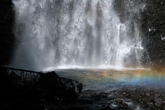 2009年夏の乗鞍高原 善五郎の滝