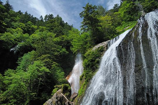 2009年夏の乗鞍高原 三本滝