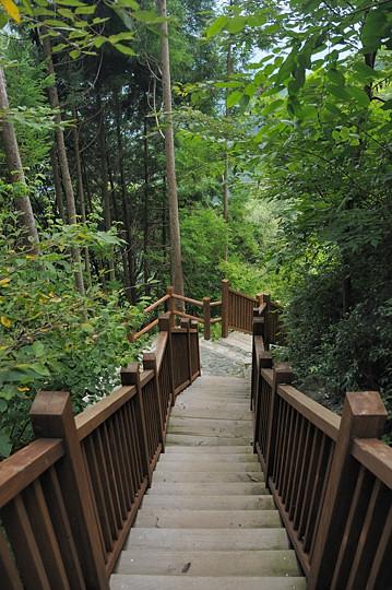 不動の滝遊歩道