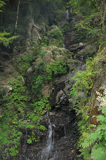 上池後の滝