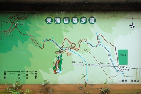 布引の滝周辺図