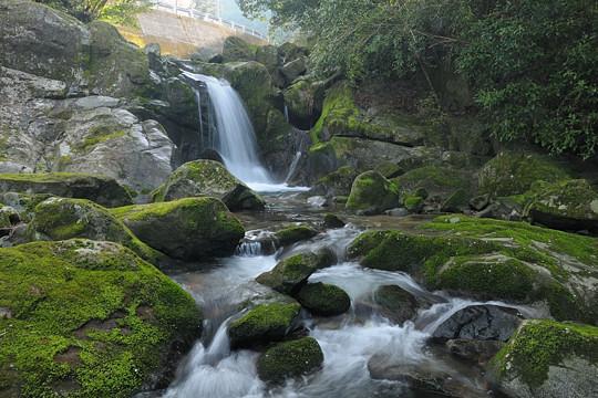 三河の滝めぐり2010 「釜淵の滝」