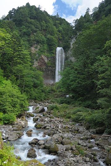 夏の平湯大滝