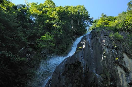 夏の大倉滝