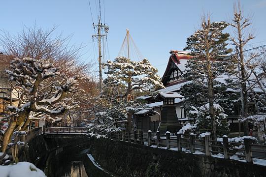 冬の高山散歩