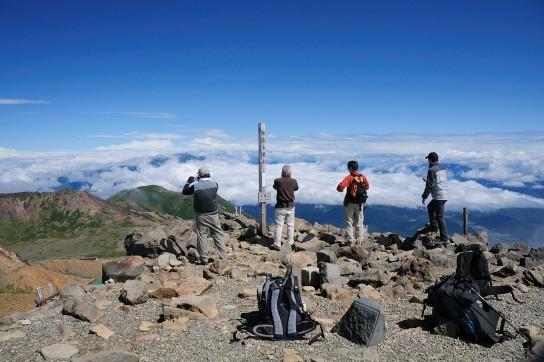 御嶽登山(2010年)
