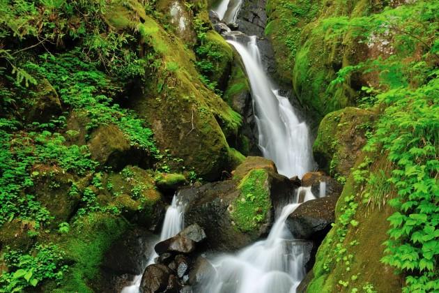 富山県東部の滝めぐり